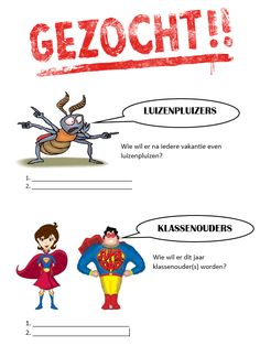 Hulpouders gezocht Color By Numbers, Primary School, Montessori, Classroom, Teacher, Education, Kids, Superheroes, Toddlers