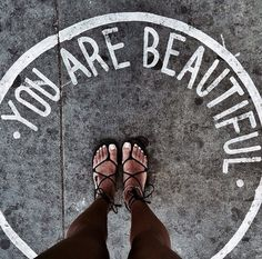 You are beautiful words body You Are Beautiful, Beautiful Words, Beautiful Quotations, Feeling Beautiful, Beautiful Beach, Beautiful Images, Quotes To Live By, Me Quotes, Reminder Quotes
