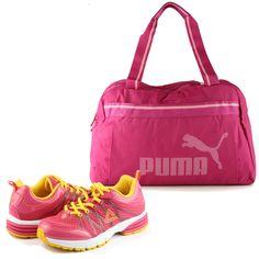 te encanta hacer #deporte ? no tienes porque perder lo femenino mientras te ejercitas   #moda #zapatos #zapato #cartera #tendencia #color  #verano #primavera #ejercicio #fitness #puma #fashion #Glam #glamour