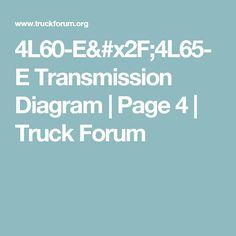 4L60-E/4L65-E Transmission Diagram   Page 4   Truck Forum