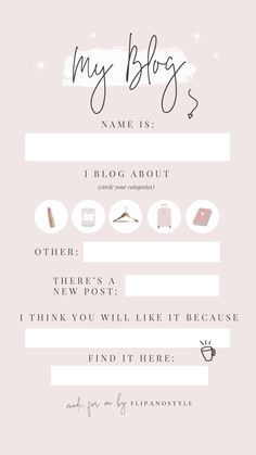 Free instagram story template to promote your blog ♡ Instagram Stories templates for bloggers x