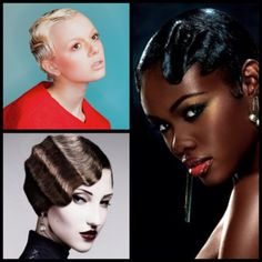 Finger waves are often imitated with irons and sets, but the classic, wet-set variety still holds special appeal.