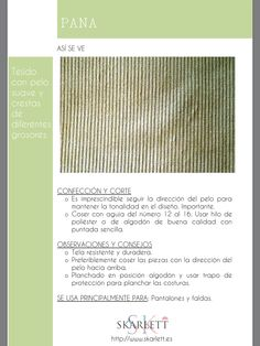 El dossier de las telas Skarlett Sewing Hacks, Sewing Projects, Sewing School, Fashion Dictionary, Fashion Vocabulary, Textile Texture, How To Make Clothes, Clothing Hacks, How To Dye Fabric