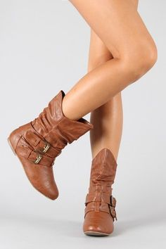 Real-66 Slouchy Mid Calf Boot