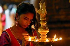 A devotee lights oil lamps at a religious ceremony in Colombo, Sri Lanka Happy Diwali 2017, Hindu Festival Of Lights, Festivals Of India, Diwali Celebration, Religious Ceremony, Most Beautiful People, Oil Lamps, Celebrities, Pictures