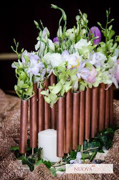 Concept Deco cu accente de primăvară. | Nuova Idea Deco, Concept, Candles, Deko, Dekoration, Candy, Decor, Candle Sticks, Decoration
