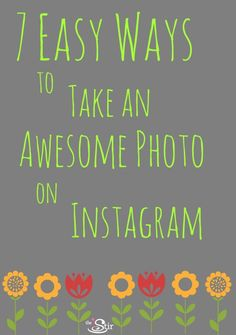 Taking Instagram photos just got a lot easier http://thestir.cafemom.com/technology/155799/7_ways_to_take_an?utm_medium=sm_source=pinterest_content=thestir