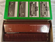 Bowser HO Kit #55413 50' Round Roof Dbl Dr Box Car- Texas South - Eastern RR #147