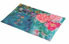 Romance Designer Art Flowers Gift Collection: Art Designed Gourmet Edibles & Home Decor - Our Top Picks - Romance Flowers Whimsical Art Designed Placemats by Marie-Jose Pappas of Innocent Originals