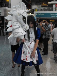 American McGee's Alice Cosplay by ~SuperSonicHero10 on deviantART
