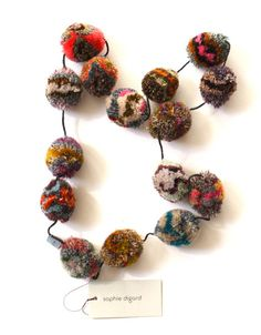 PomPom Necklace by Sophie Digard