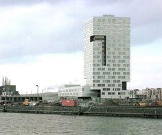 Neutelings Riedijk | Torre IJ de apartamentos en Amsterdam | HIC Arquitectura