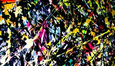 Detalle en pintura de acción 3