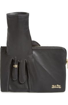 Undercover Leather Glove Clutch available at #Nordstrom