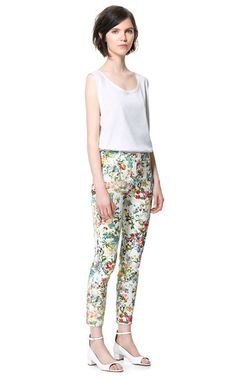 PRINTED TROUSERS - Woman - New this week - ZARA United States