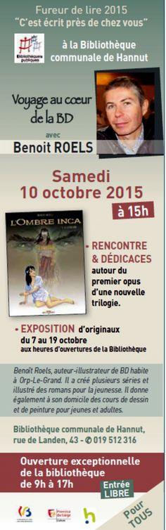 PROCHAINEMENT > BIBLIOTHÈQUE DE HANNUT > LA FUREUR DE LIRE ! > LA BD … - Hannut