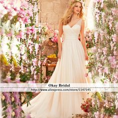 Find More Wedding Dresses Information about Vestido De Noiva Simples Greek Style Wedding Dress V Neck Back Pleat A Line Bridal Gown 2016 Tulle Wedding Dresses VD010,High Quality gowns australia,China gowns maternity Suppliers, Cheap gown beaded from OkBridal Dress Co.,Ltd on Aliexpress.com