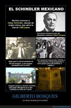 GILBERTO BOSQUES - Un héroe olvidado por la historia