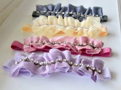 Newborn Headband Couture by spoiledNsweet on Etsy,