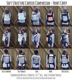 11 Best Soft Structured Carrier Comparisons Images Baby Slings
