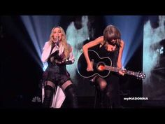 HD - Madonna and Taylor Swift Perform Ghosttown Taylor Swift Singing, Madonna Music, Music Videos, Glamour, Songs, Concert, Awards, Youtube, Popsugar