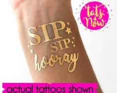 Sip Sip Hooray! Bride Slay | Slay Squad | Bride Tribe | Team Bride Ideas | bride squad tattoos, bachelorette party tattoos, bachelorette party, bachelorette gifts, bridal party gifts, bridal shower gifts, bachelorette weekend, bachelorette photos, team bride gifts, bride squad gifts, bride squad ideas, bachelorette favors, bachelorette party gifts, bride squad style, bride tribe gifts, hen party gifts.