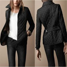 This short cotton coat with plaid can make you looked brief but generous,and this design is fashion,you can get one and wear it at your daily life,turn-down collar do make you looked cool,hi,girls! Do