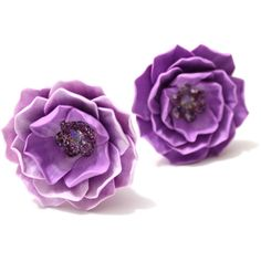 Lilac Peony Hair Flower, Wedding Hair Flower, Bridal Accessory,... (22 BGN) ❤ liked on Polyvore featuring accessories, hair accessories, bridal hair pins, bride hair accessories, flower hair pins, bridal flower hair accessories and bridal flower hair pins