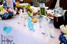 Inicjały ślubne wykonane na zamówienie :)