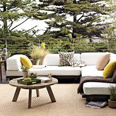 I'm so excited to get deck furniture in the spring.