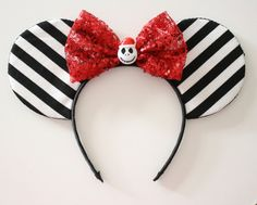 Jack Santa Mouse Ears by Shopmymouse on Etsy
