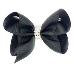 d197a5437c3c Click the bow to get this Americana Bow Pinch Clip (Diamond Rhinestone  Bling)! Baby Wisp