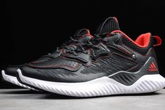 2019 adidas Alphabounce Beyond M Black Red For Sale New Shoes, Men's Shoes, Mens Skechers, Training Sneakers, Designer Shoes, Adidas Sneakers, Basket, Footwear, Black
