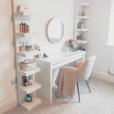 Top Beautiful Teen Room Decor For Girls – Decor Bedroom Decor For Teen Girls, Room Ideas Bedroom, Teen Room Decor, Home Bedroom, Ikea Room Ideas, Ikea Mirror Ideas, Ikea Teen Bedroom, Cute Bedroom Ideas For Teens, Living Room Desk