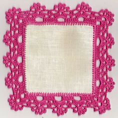 Eleneci Castelo Martins's 387 media content and analytics Crochet Boarders, Crochet Edging Patterns, Crochet Lace Edging, Crochet Squares, Filet Crochet, Crochet Designs, Crochet Doilies, Crochet Flowers, Crochet Stitches