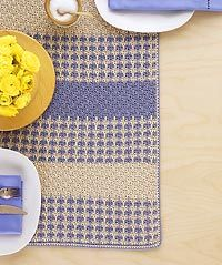 Crochet an Easy Table Runner