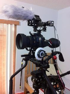 Camera Rig by @ReynaldoMorales :  @express35 Thanks for the Rig-X B. Looks beautiful all put together