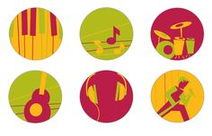 Icon design for Music is Art, a non-profit organization in Buffalo