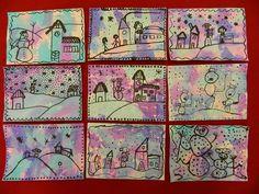 123 Best Winter Theme Images Winter Theme Art For Kids Art