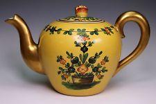 Rare Hand Painted Antique Delvaux Paris Limoges Tea Pot