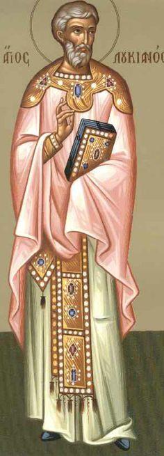 Πνευματικοί Λόγοι: Άγιος Λουκιανός ο ιερομάρτυρας Πρεσβύτερος της Εκκ...