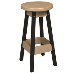 "Berlin Gardens 30"" Poly Bar Stool You've found the sturdiest outdoor stools made of poly lumber. An evironmentally friendly option for outdoors! Pick from fun colors and don't worry about maintenance. #dutchcrafters"