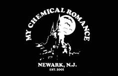 my chemical romance nj Mcr Logo, My Chemical Romance Poster, Emo Wallpaper, Horror Drawing, Band Wallpapers, Sweet Revenge, Love Band, Emo Scene, My Vibe