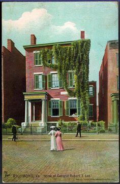 Home of General Robert E. Lee, Richmond, Va -- 707 E Franklin St