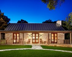 Great Hill Country Retreat   Farmhouse   Exterior   Houston   Northworks  Architects And Planners