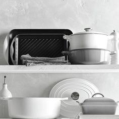 Le Creuset Signature Cast-Iron Round Dutch Oven | Williams-Sonoma Matte white • 3.5 or 5.5 quart