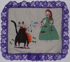 Devil Cat, 2008, by Annie Aube, www.annieaube.com
