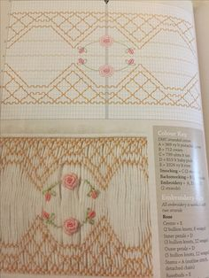 Australian Smocking 96 - pattern and instructions