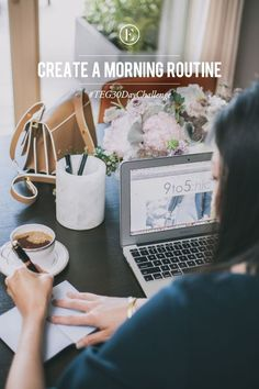 The Everygirl 30 Day Challenge: Create a Morning Routine #theeverygirl