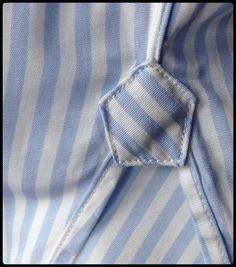 Shirt gusset on bias